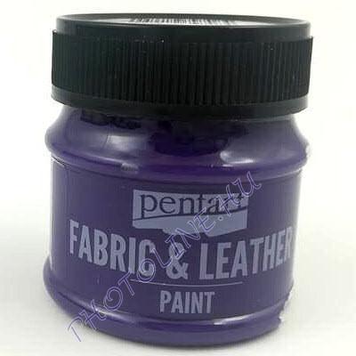 Pentart textil és bőrfesték 50 ml lila