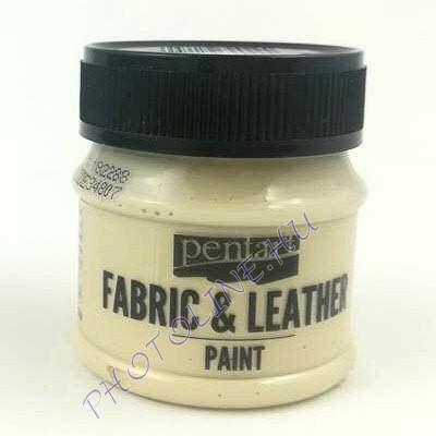 Pentart textil és bőrfesték 50 ml bézs