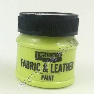 Pentart textil és bőrfesték 50 ml limetta