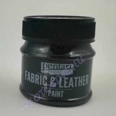 Pentart textil és bőrfesték 50 ml fekete