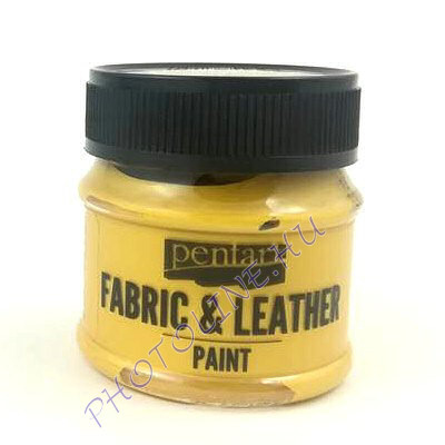 Pentart textil és bőrfesték 50 ml arany