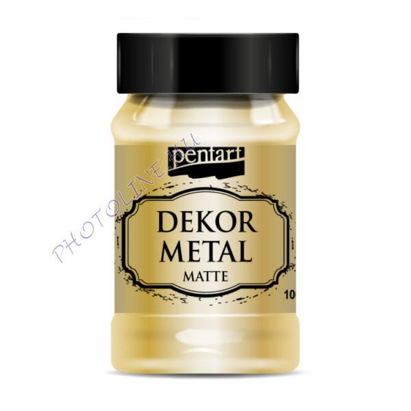 Pentart dekormetál matt 100 ml arany