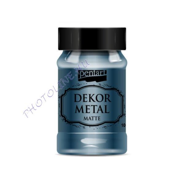 Pentart dekormetál matt 100 ml Oxford kék