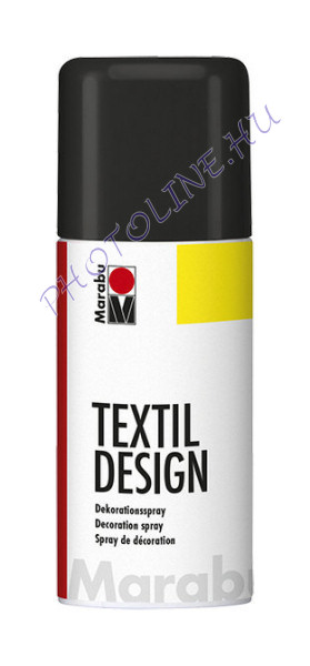 Textil Design Spray FEKETE 150ml