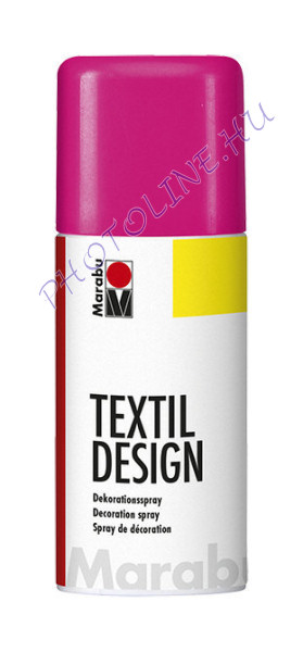 Textil Design Spray ÉLÉNK PINK 150ml
