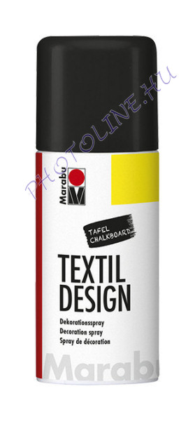 Textil Design Spray krétatábla FEKETE 150ml