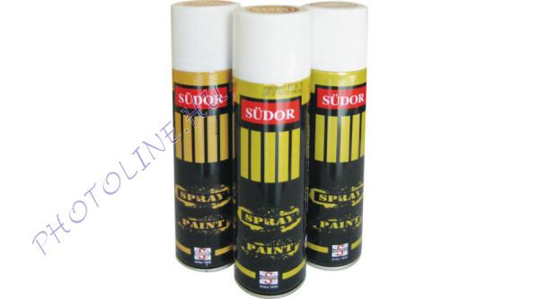 Südor festékspray 200 ml, fekete