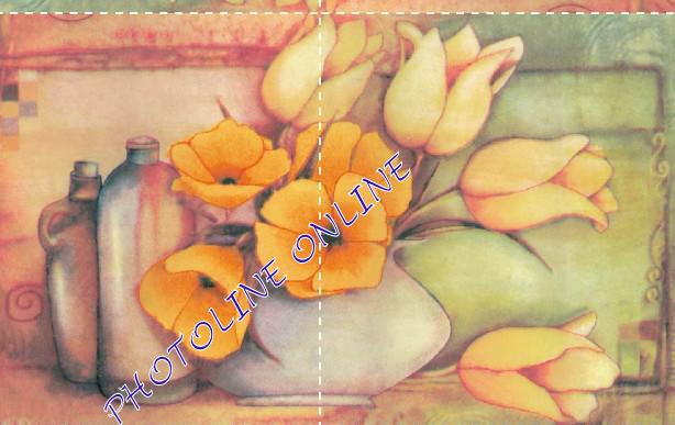 Decoupage Szalvéta 33*33 cm Tulipán