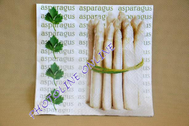 Decoupage Szalvéta 33*33cm Spárga Csokor