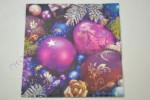 Decoupage Szalvéta Lila Karácsony